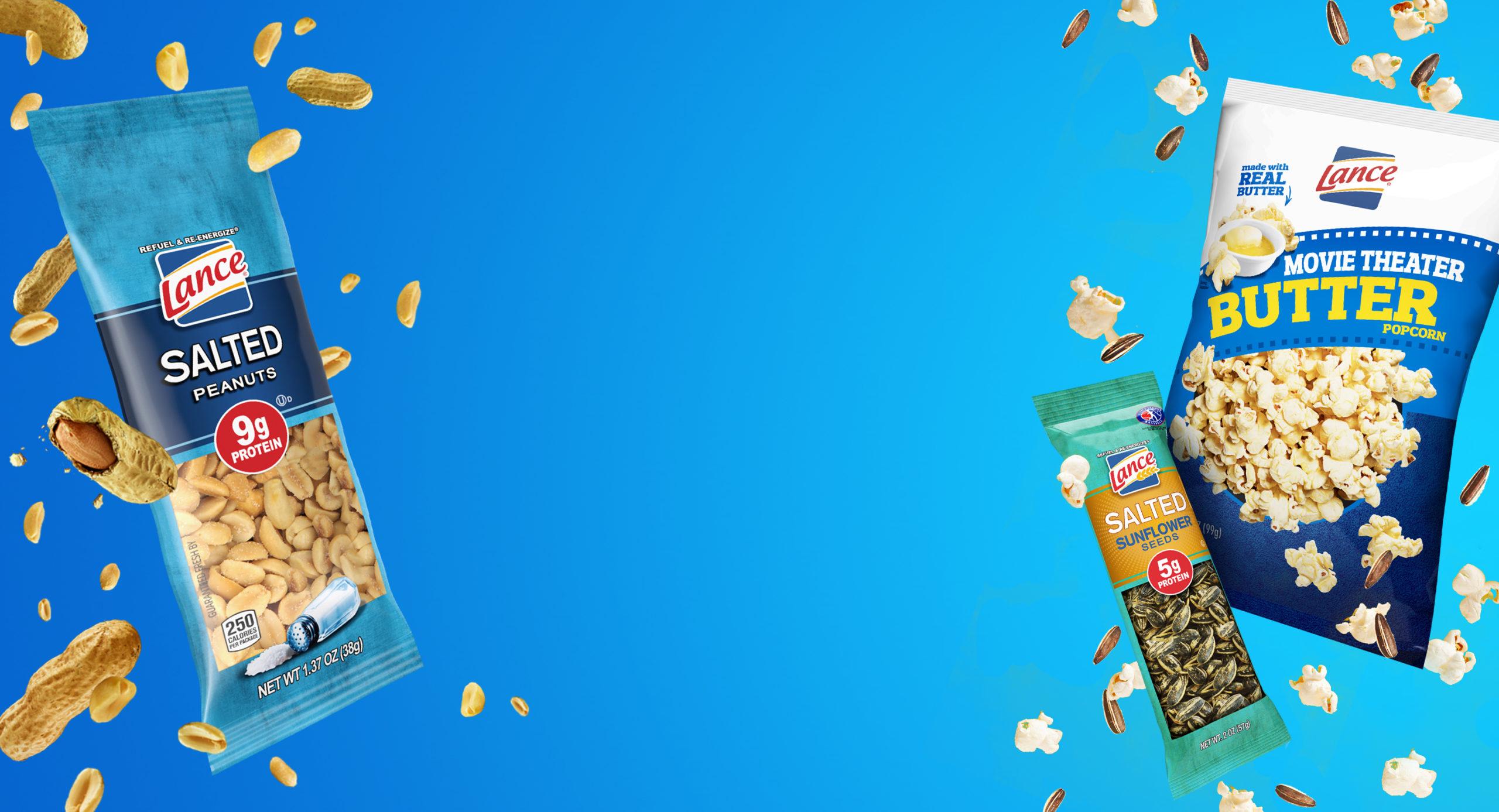 Nuts, Seeds & Popcorn Archives - Lance